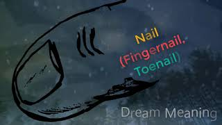What does dreaming about Nail (Fingernail, Toenail) ?