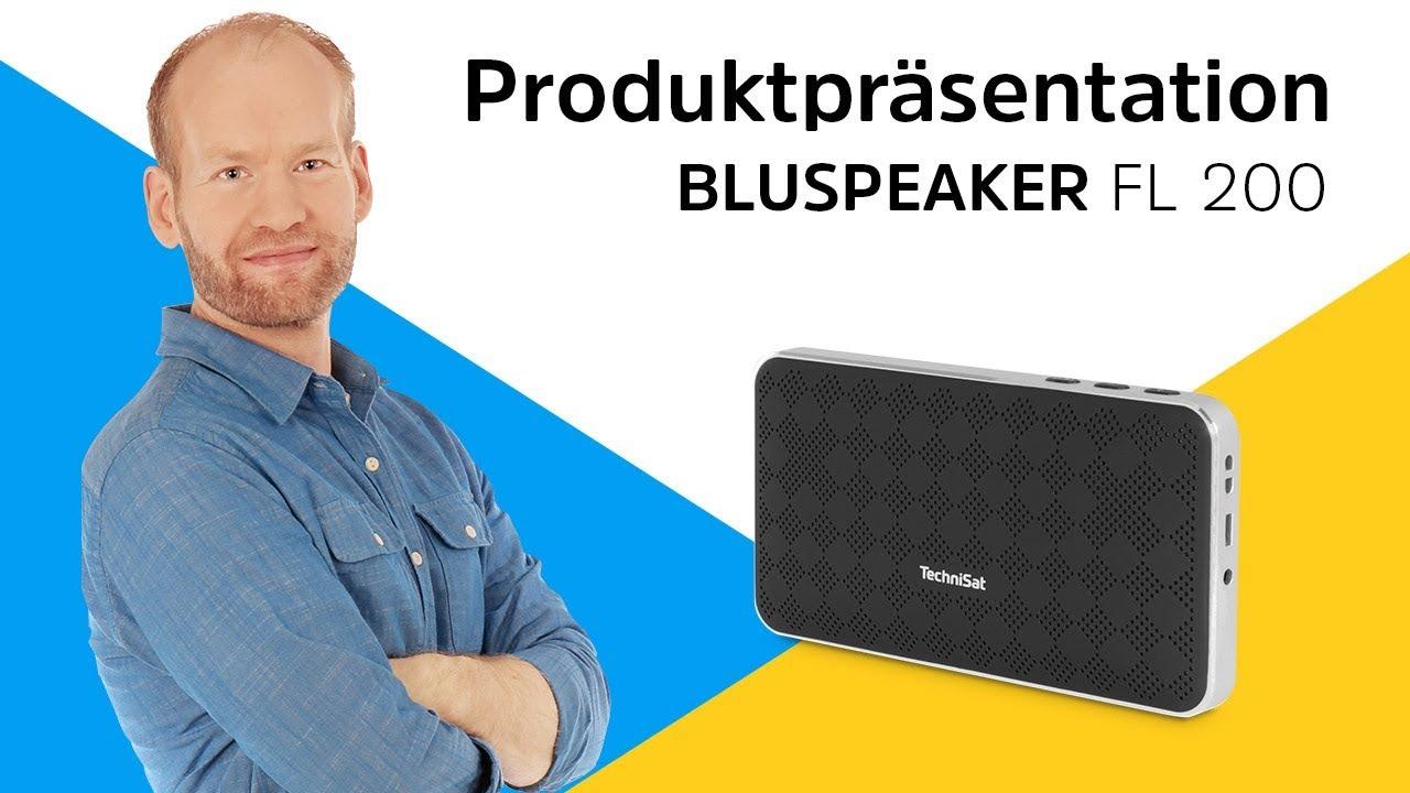 Video: BLUSPEAKER FL 200 | Mobiler Lautsprecher im Handy-Format. | TechniSat