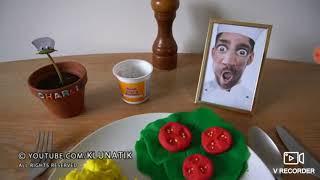 Her şeyi yiyen adam rahatlatıcı videolar#1 (hamur yemek)