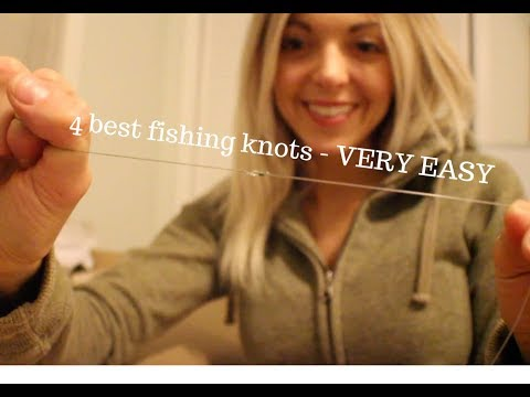 The Four BEST Fishing Knots HOW TO | Fishing Knot Tutorial MADE EASY That Every Angler Should Know