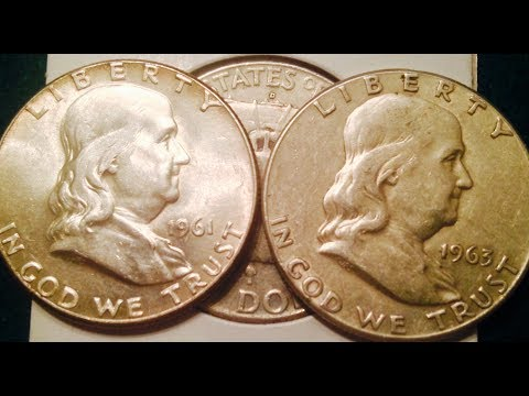 1961-1963 90% Silver Franklin Half Dollars (Part 1 Of 2)