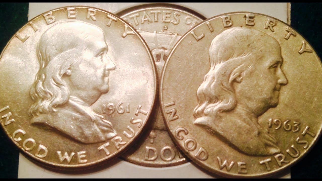 FULL ROLL of 20 PROOF 1963 Franklin Half Dollars