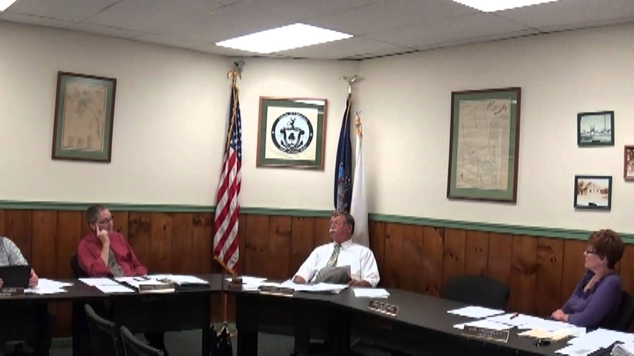 Champlain Village Board Meeting  7-7-14