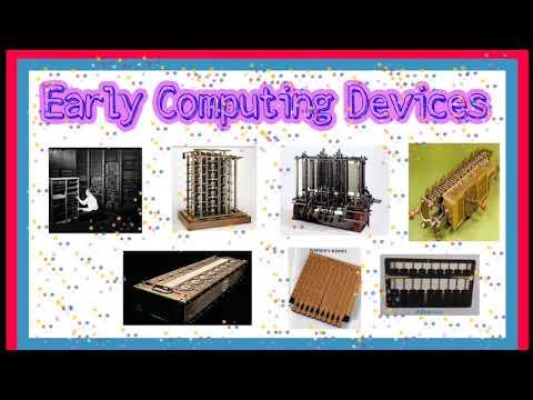 Early computing device || history of computing hardware.