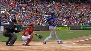 4/22/17: Cubs hit three homers in 12-8 win over Reds