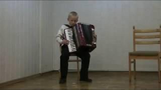 Свиридов - Романс Метель аккордеон концерт