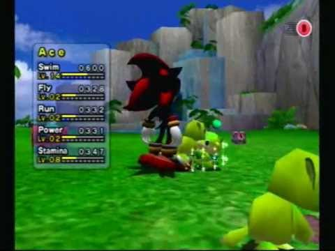 My Chao Garden From Sonic Adventure 2 Battle Ace The All