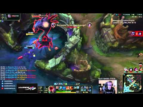 TSM Bjergsen - How to secure Baron with style ft. TSM Doublelift
