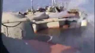 Russian Navy Vs Somali Pirates SOUND
