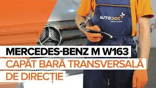 Cum se inlocuiesc capăt bară transversală de direcție pe MERCEDES-BENZ M W163 TUTORIAL   AUTODOC