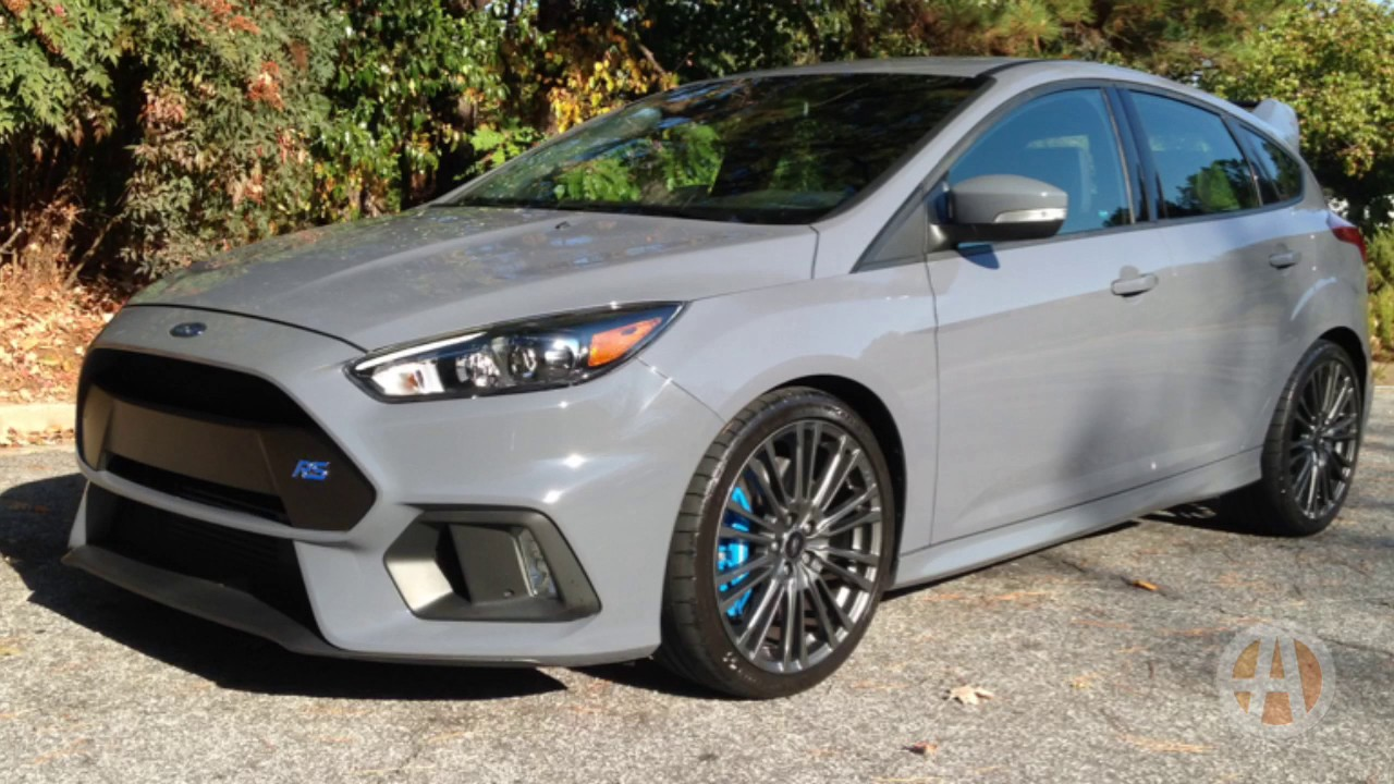 2017 Ford Focus RS: American Hustle - Video - YouTube