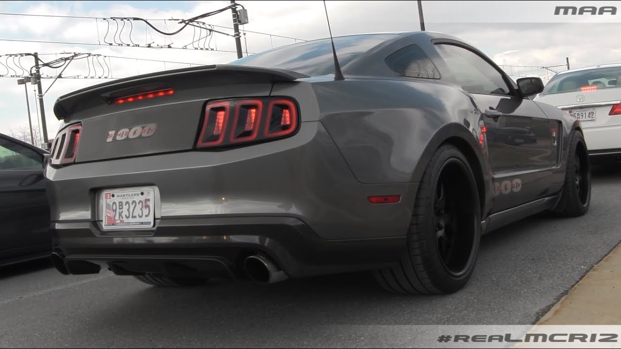 Wide Body Shelby 1000 Idle Sound Youtube