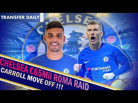 Chelsea January Transfer News || Emerson Palmieri CLOSE to signing! || Chelsea to Sign Dzeko too!