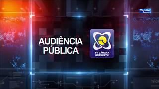 Audiência Pública 29/08/2017 - Projeto de acessibilidade na Câmara
