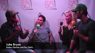 Luke Bryan- 50th CMA Awards Interview