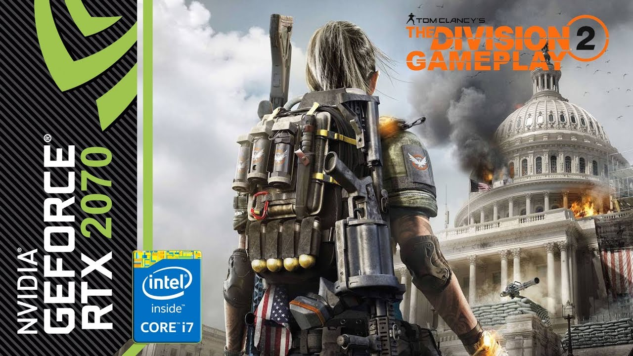 Tom Clancy's The Division 2 Beta - Gameplay [RTX 2070 Intel i7 4790K]
