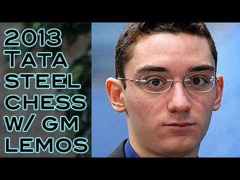 Aggressive Caro-Kann 😲 GM Caruana vs GM L'ami - 2013 Tata Steel Chess Tournament