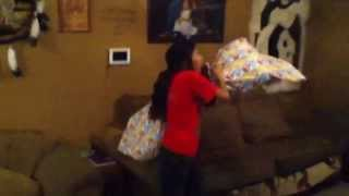 How To Make A Pillow Fort!! (brother And Sister Edition)