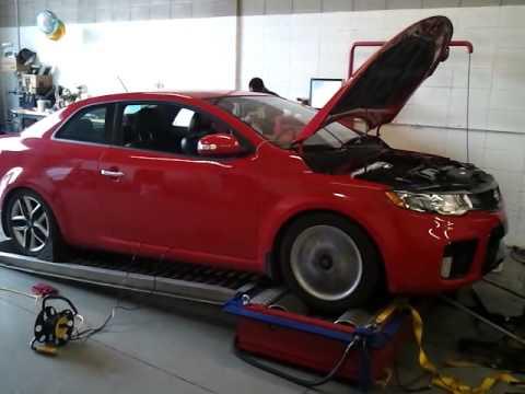 Great 2010 Kia Forte Koup SX Turbo   3.5 Psi Dyno   YouTube