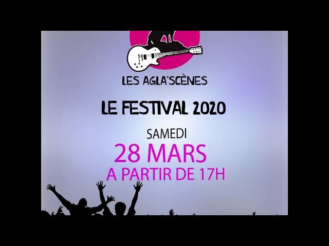 Les Agla'scenes teaser Festival 2020