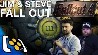 Fallout 4 Livestream: Jim & Steve Fall Out Part 1