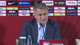 Türkiye - Arnavutluk maçının ardından A Milli Takım Teknik Direktörü Şenol Güneş'in açıklamaları (2)