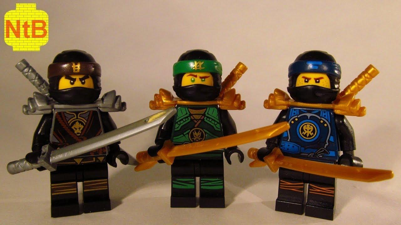 Lego Ninjago Custom Jay Lloyd Cole Xt Suits