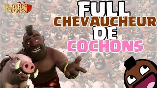 [FUN] UNE ATTAQUE FULL COCHON | CLASH OF CLANS