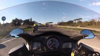 CBR1100xx low speed wreck