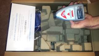 Bissell deep clean lift off unboxing.
