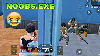 Pubg Mobile Funny Moments 🤣😂 | Trolling Noobs