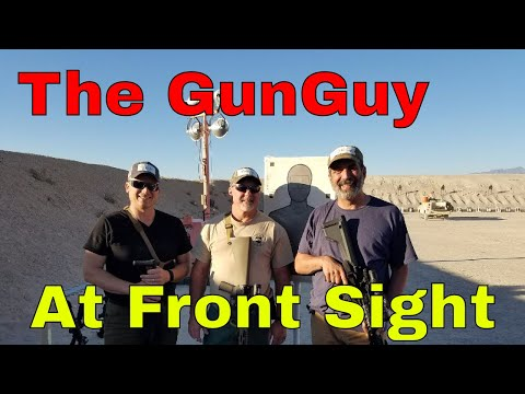 My Practical Rifle Course at Front Sight - Audio Podcast Episode 18