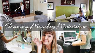 Monday CLEANING Motivation // Cleaning Mom