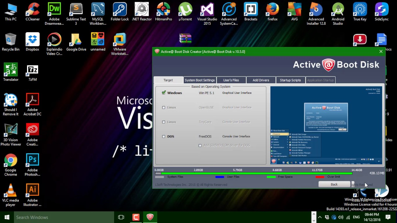 active boot disk 11 full version free download