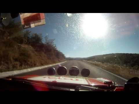 2011 Carrera Panamericana Crash betw 264 Mini and 251 Volvo