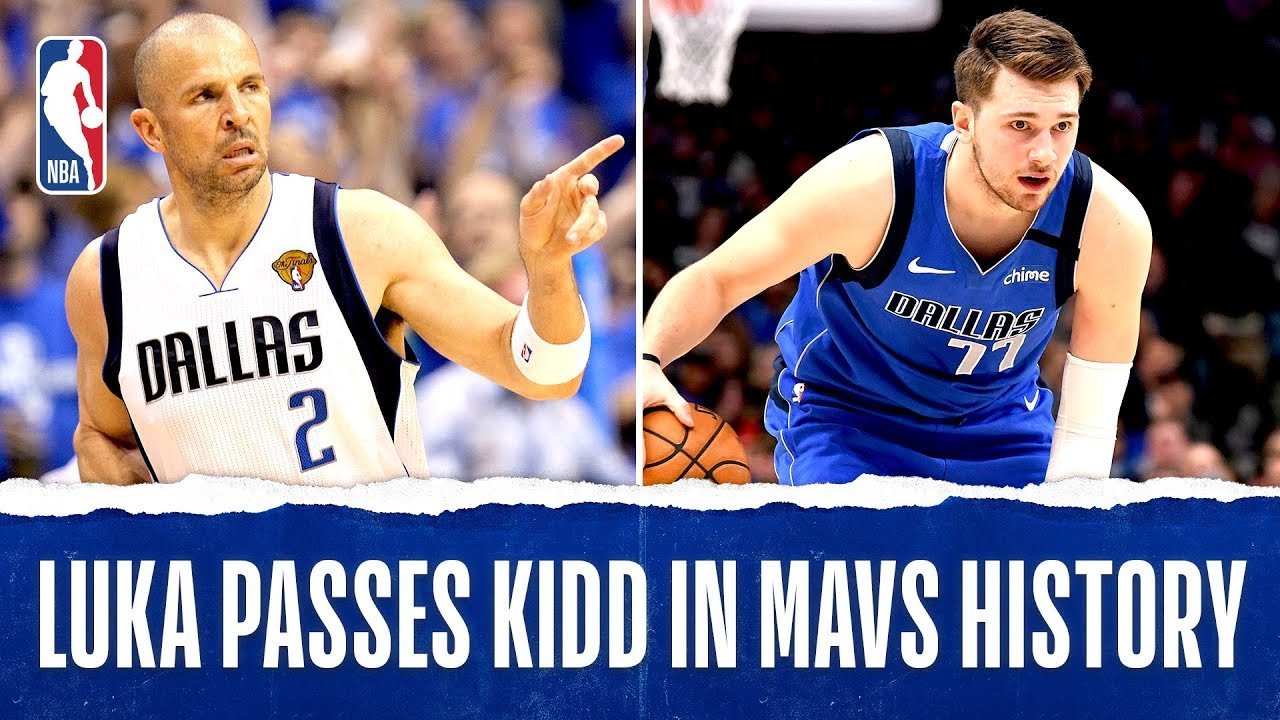 Luka Passes Kidd For Most Triple-Doubles In Mavs History!