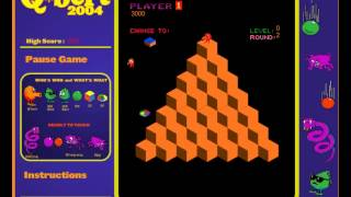 Q*bert 2004 (PC browser game remake)