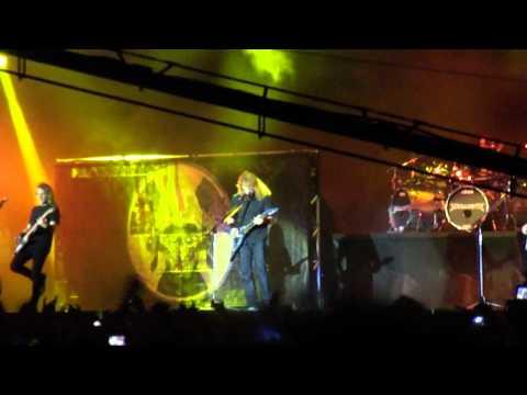 Megadeth - Trust - SWU 2011 Brazil