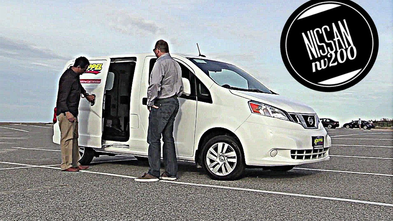 Nissan Nv200 Compact Cargo Van Test Drive And Review Youtube