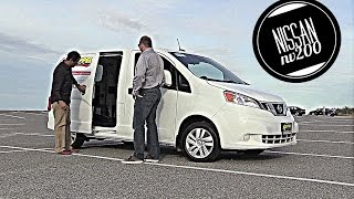 Nissan NV200 Compact Cargo Van Test Drive and Review