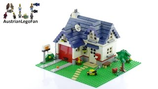 Lego Creator 5891 Apple Tree House - Lego Speed Build Review