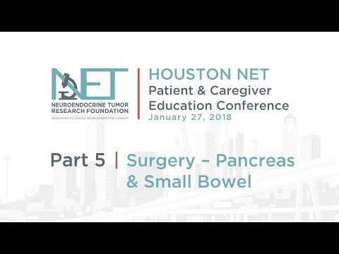 5. Surgery of Pancreas and Small Bowel, Matt Katz, MD, MD Anderson, NETRF 2018 Houston Conference