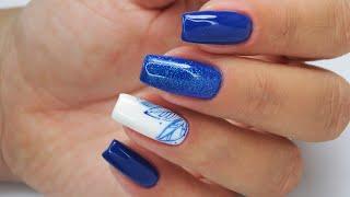 Blue leaves/  Star Nail & cuccio