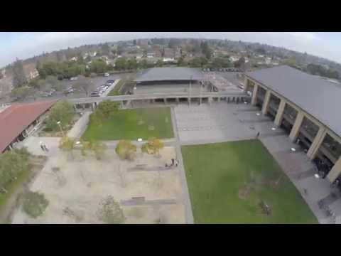 City of Cupertino A Birds Eye View-in 4k