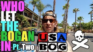USA BOG Pt. 2 | Knotts Berry Farm | Baseball | The Vaping Bogan