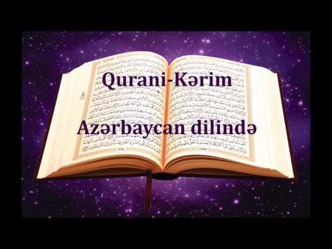 Qurani Kerim Azerbaycan Dilinde 27/114 En-Neml Suresi