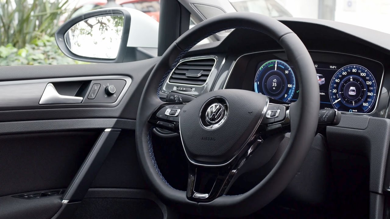 2017 volkswagen e golf golf gte plug in hybrid interior. Black Bedroom Furniture Sets. Home Design Ideas