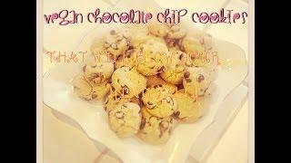 My Mama's Vegan Chocolate Chip Cookies Recipe!