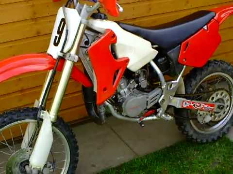 Tilting Motor Works >> Honda cr80 2002 MX Bike - YouTube