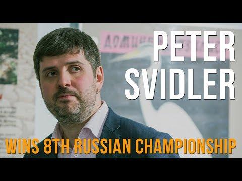 Peter Svidler Wins 8th Russian Championship